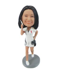 bobblehead nurse | customsbobbleheads.com